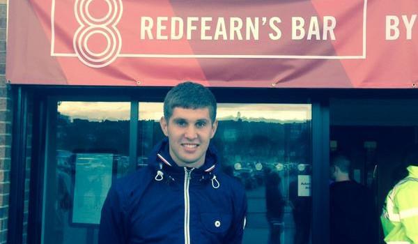 John Stones Redfearn's Bar